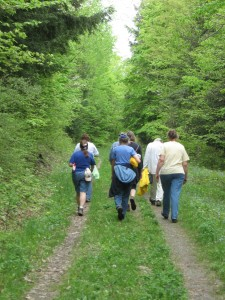 May 2011 hike with Springwater Parks and Trails.